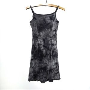 ONE CLOTHING Tie-Dye Ribbed Tank Dress Small